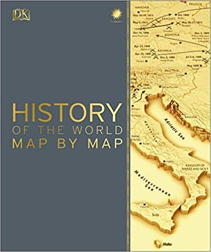 DK's History of the World Map by Map