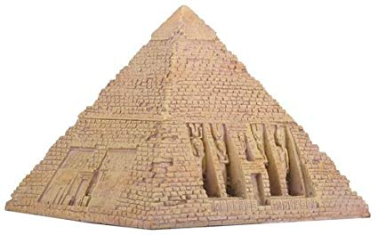 Egyptian Sandstone Pyramid Box by Summit By White Mountain