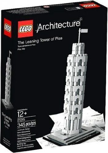 Architecture -  The Leaning Tower of Pisa by LEGO