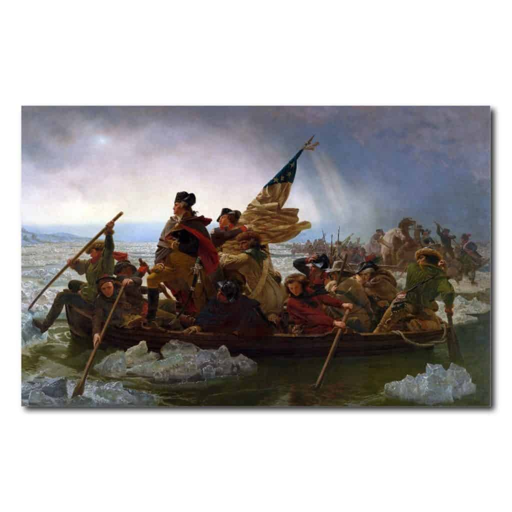 Young N Refined George Washington's Crossing of The Delaware River