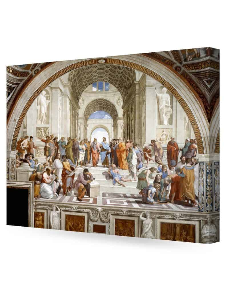 DECORARTS - The School of Athens, Raphael Art Reproduction