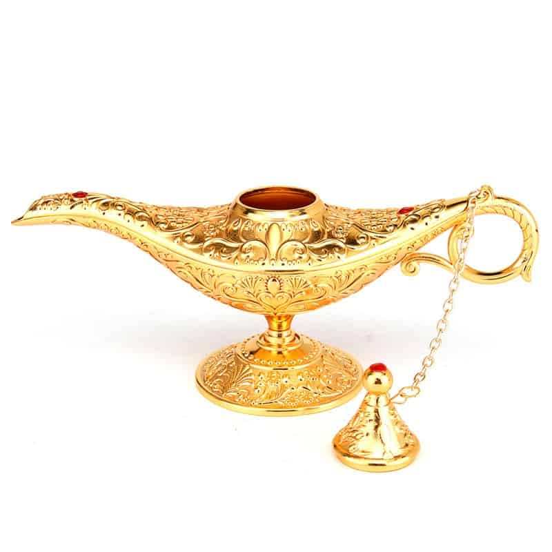 Aladdin Lamp Metal Collectible For You