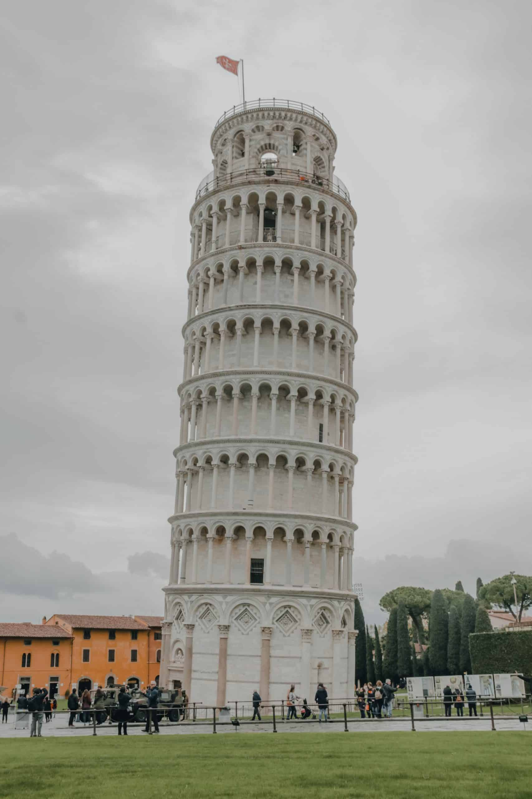 Painting Techniques for Pisa Tower